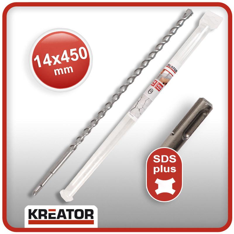 SDS-max Bohrer ø 28 mm Beton Stein Mauerwerk Länge 340 mm Werkzeugstahl KREATOR