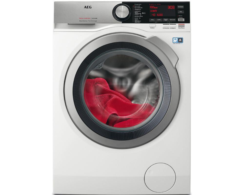 Aeg l7we86605 10 kg 6 kg waschtrockner 1600 u min. eek a weiß
