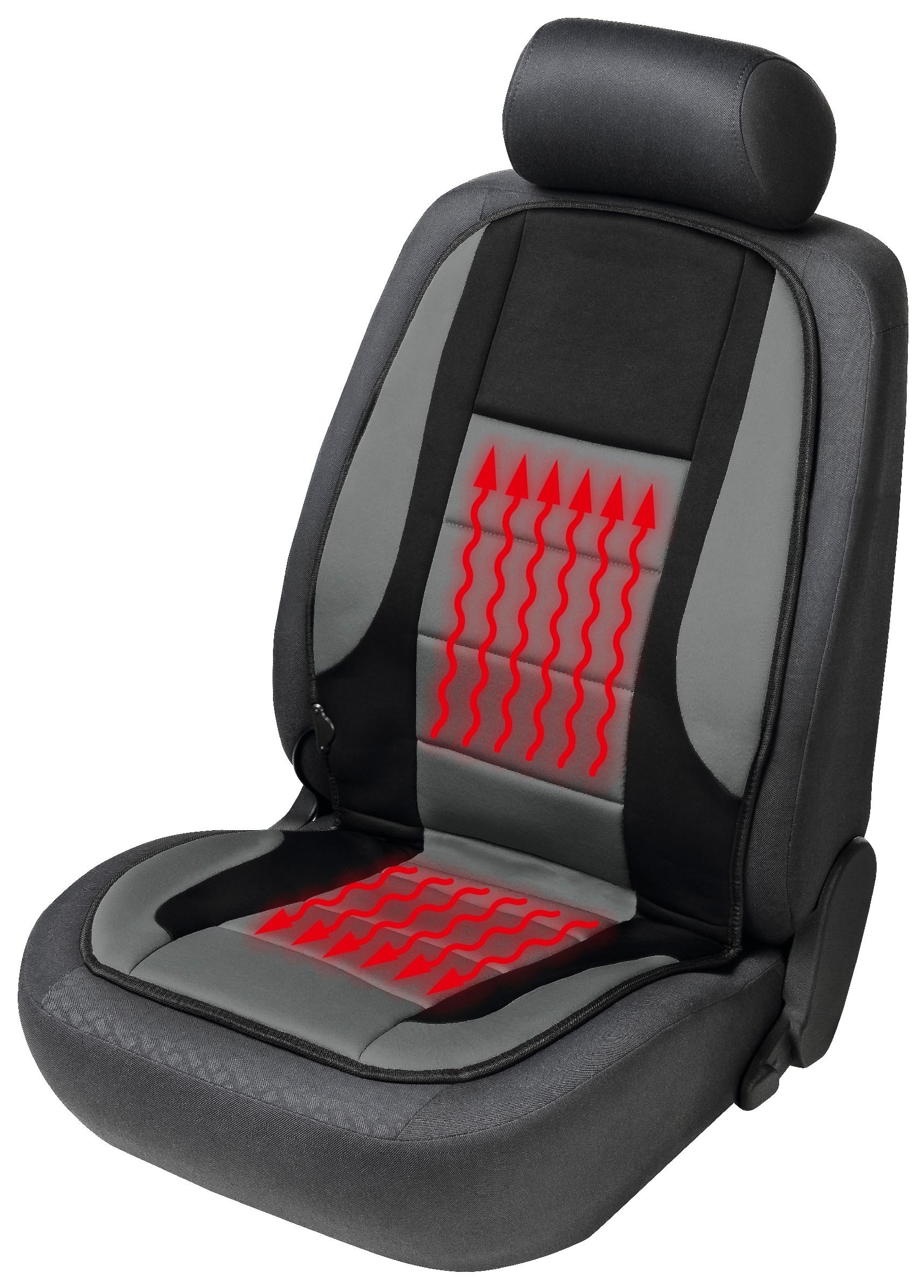 beheizbare sitzauflage autositzauflage hot stuff f r pkw. Black Bedroom Furniture Sets. Home Design Ideas