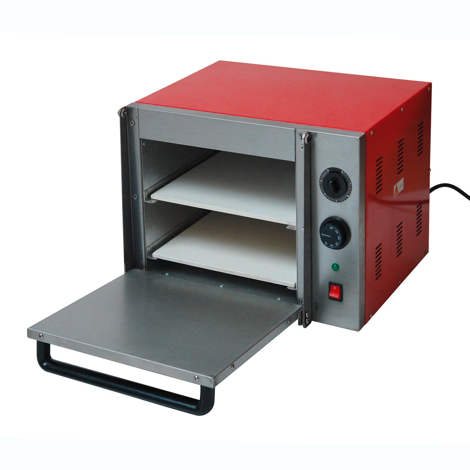 pizzaofen pizza flammkuchen backofen pizzastein 2 etagen po 2x30 230 volt 4031765611008 ebay. Black Bedroom Furniture Sets. Home Design Ideas