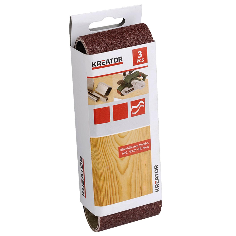 schleifpapier schleifband f r holz k rnung g80 fein 65x410mm 3 st ck sandpapier ebay. Black Bedroom Furniture Sets. Home Design Ideas