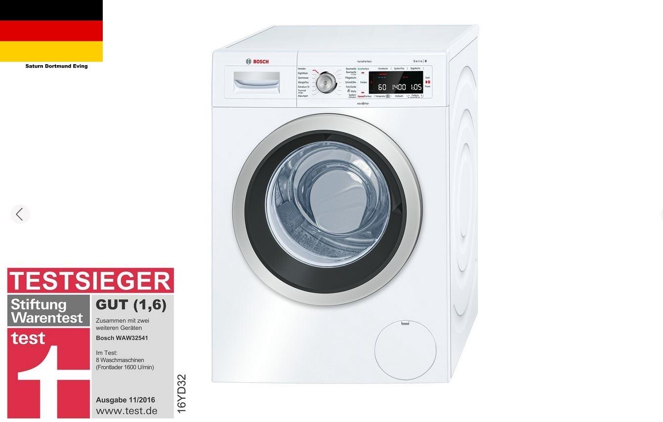 bosch waw32541 waschmaschine 8 kg 1600 u min a neu ebay. Black Bedroom Furniture Sets. Home Design Ideas