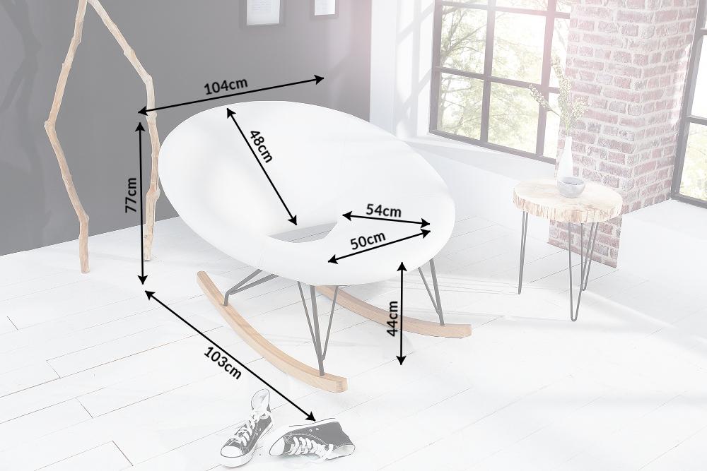 moderner xxl design schaukelstuhl floating farbwahl stuhl. Black Bedroom Furniture Sets. Home Design Ideas