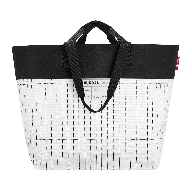 Detalles acerca de Reisenthel Urban Bag blanco y negro Shopper bolsa de compras modelo electoral 15l50l mostrar título original