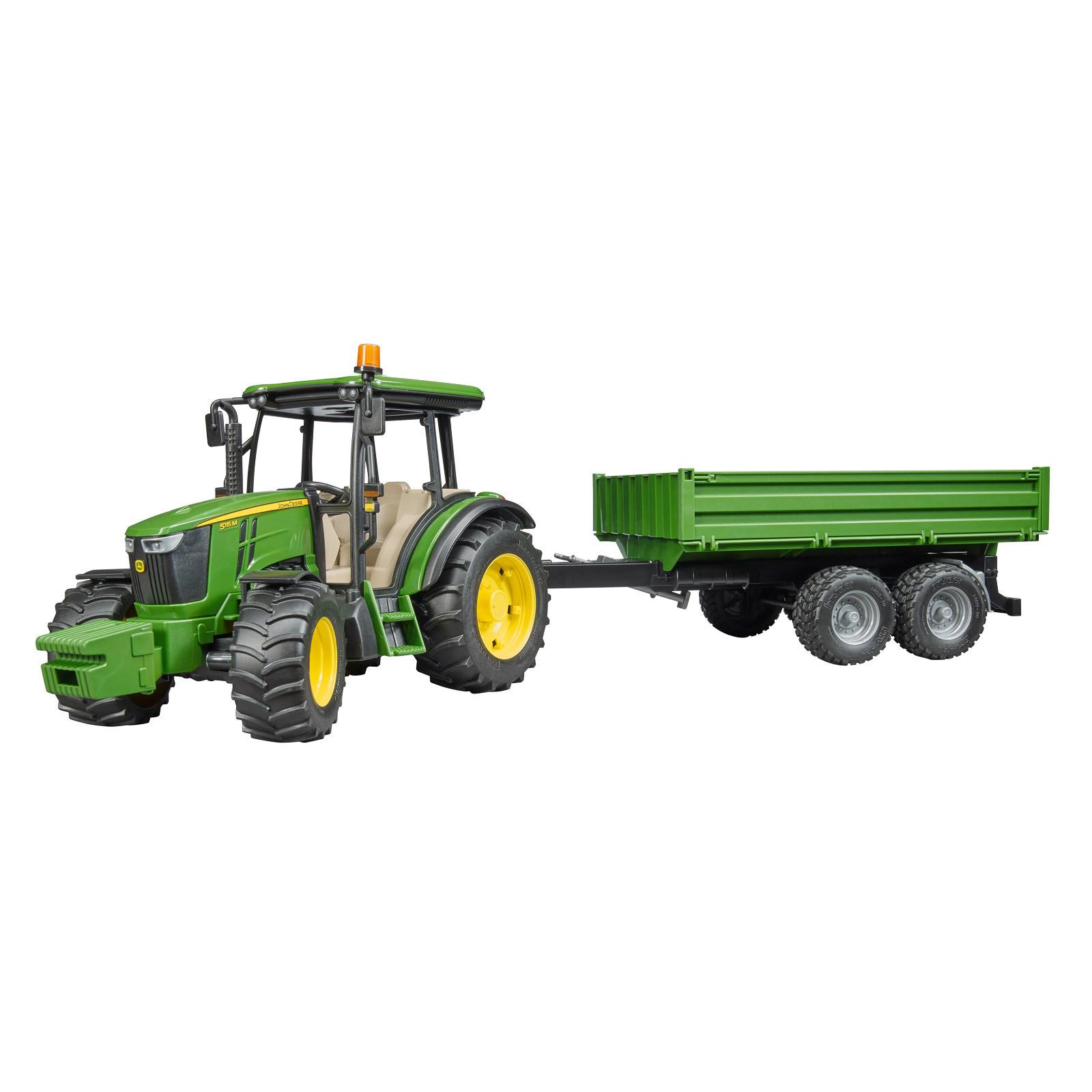bruder spielzeug john deere 5115m traktor schlepper mit