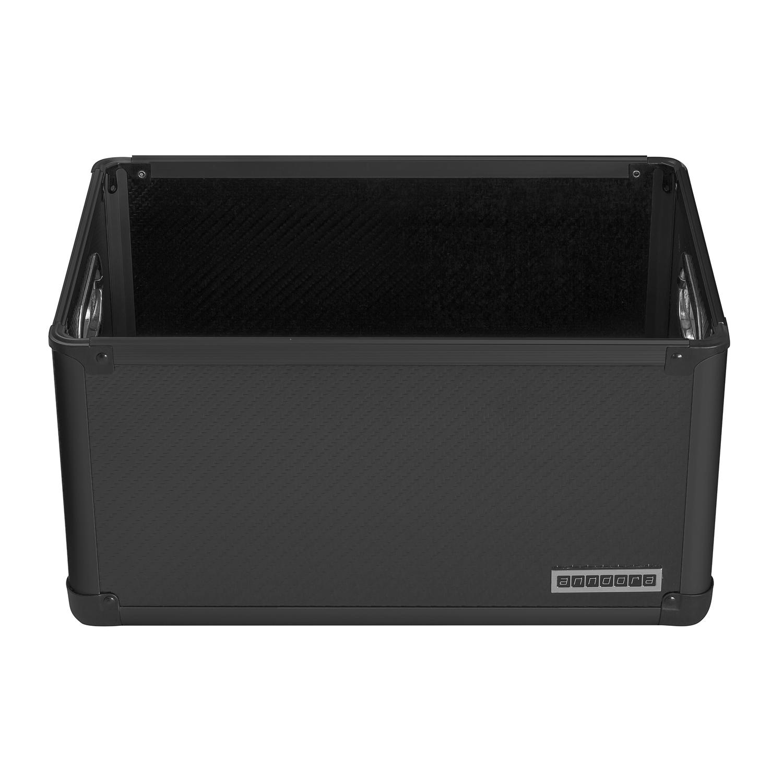 Anndora A4 Bürokiste Werkzeugbox Mit Tragegriffen Schwarz Regalbox Schrankbox Klein- & Hängeaufbewahrung