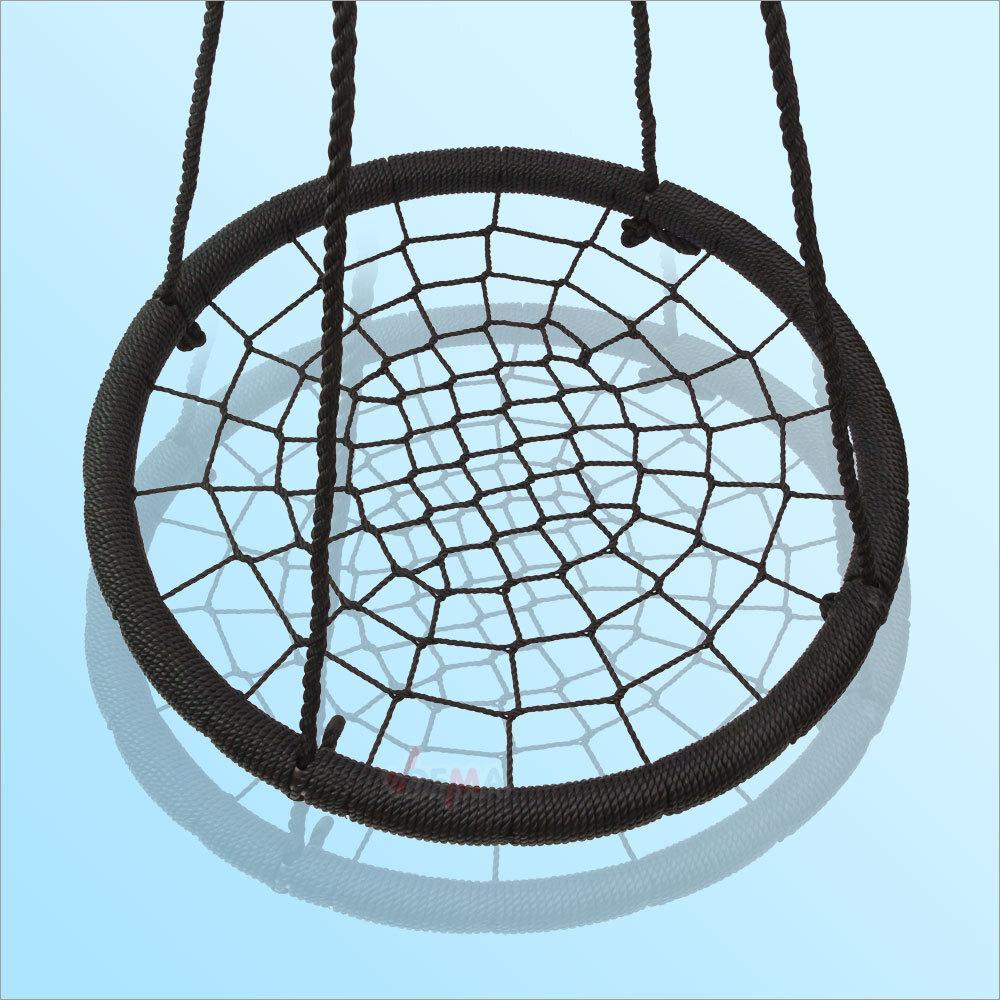 nestschaukel schaukel netzschaukel kinderschaukel schaukel spider 100 cm 150 kg ebay. Black Bedroom Furniture Sets. Home Design Ideas