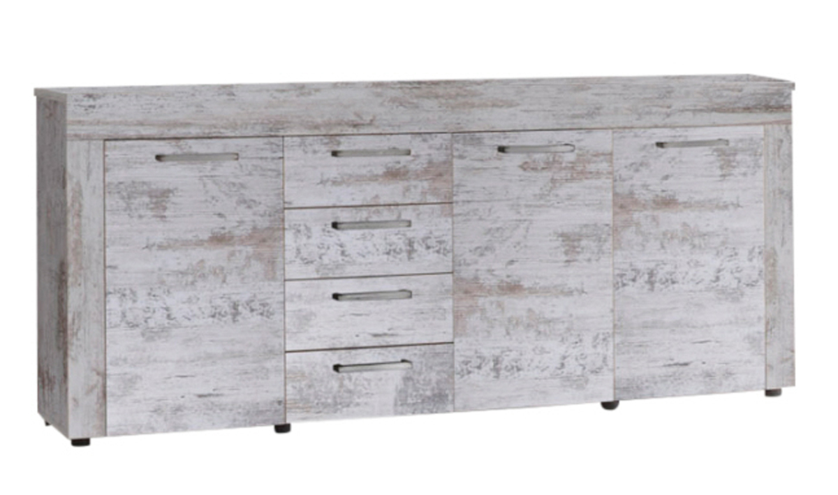 Kasper Wohndesign Landau kasper wohndesign sideboard kanada pinie weiß ebay