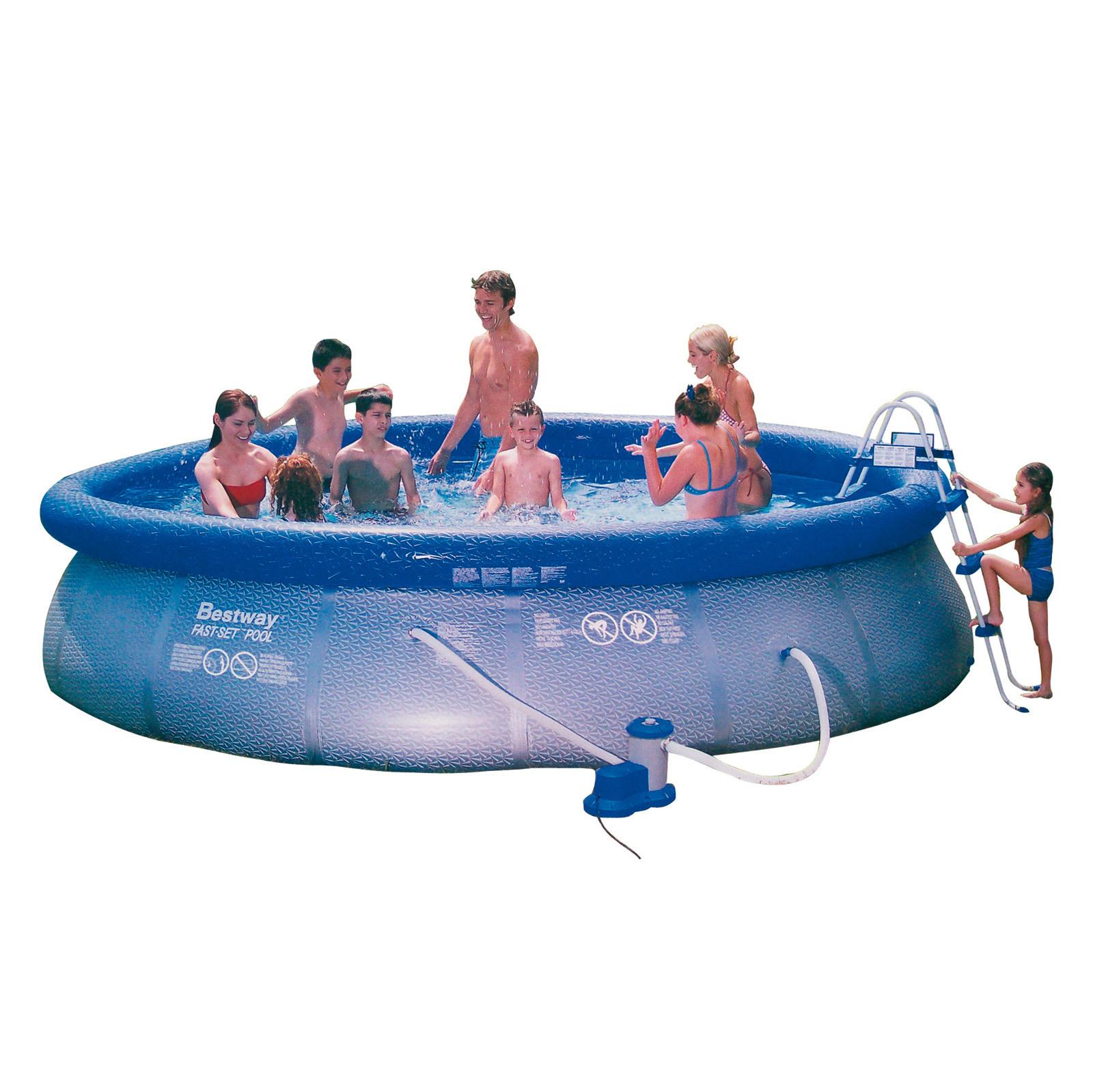 garten pool set komplett swimmingpool schwimmbad. Black Bedroom Furniture Sets. Home Design Ideas