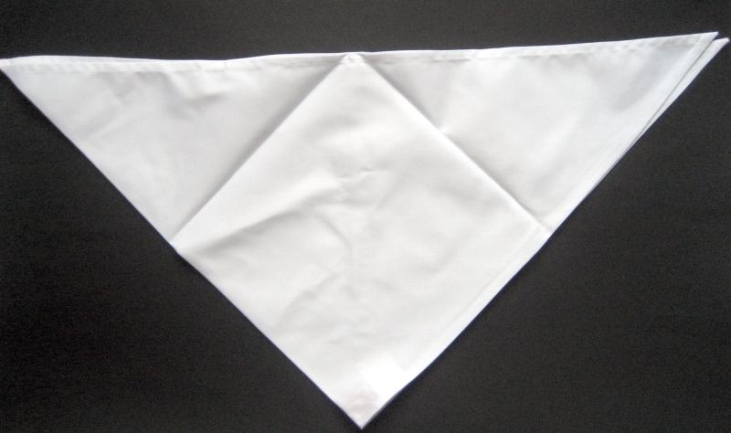 HARD YAKKA Halstuch für Köche Weiß 2 Stück