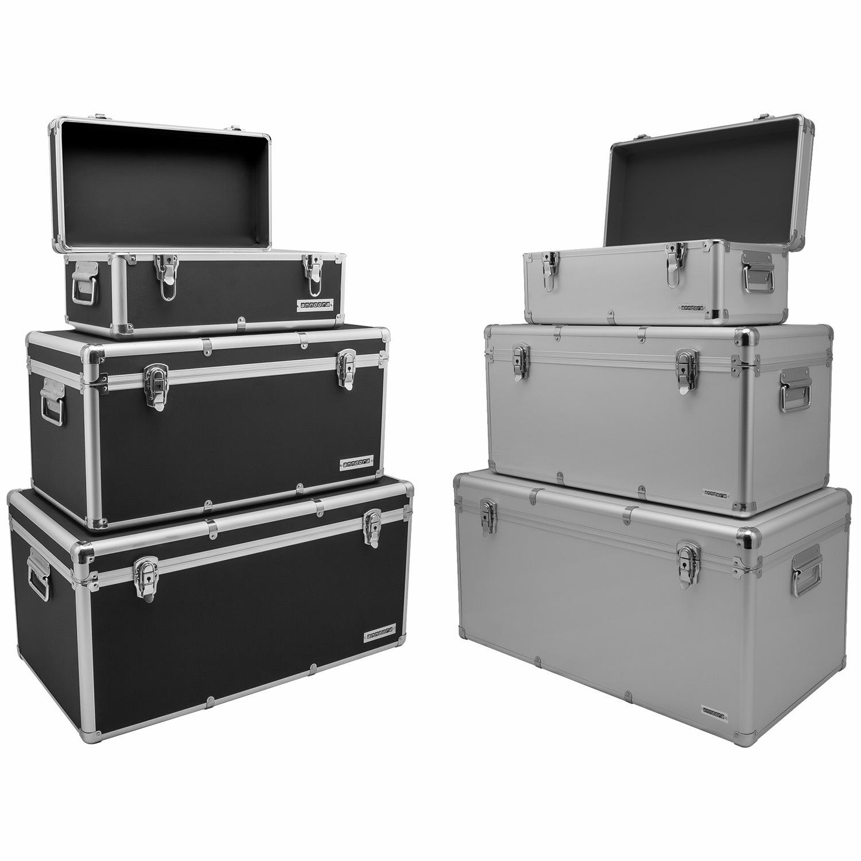 anndora Werkzugkoffer Aufbewahrungskiste BOX Kiste 19 54 82 L WAHL black white