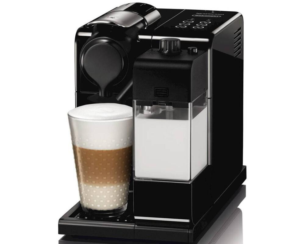 delonghi en550b nespresso lattissima touch kaspelmaschine glam black ebay. Black Bedroom Furniture Sets. Home Design Ideas
