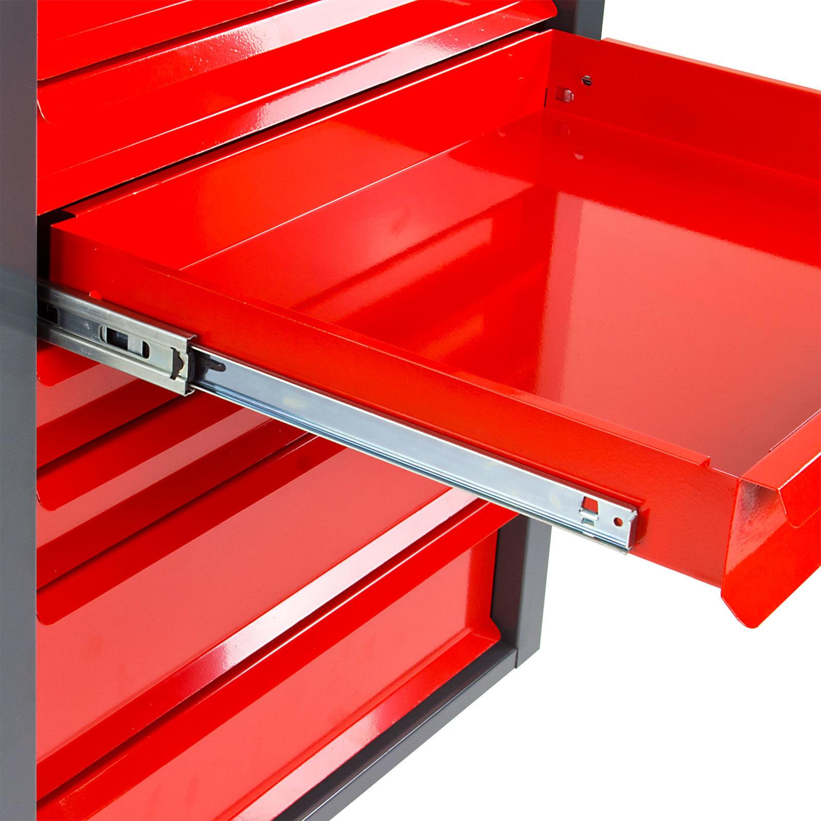 schubladenschrank werkzeugschrank werkstattschrank fernando maxi 8 schubladen ebay. Black Bedroom Furniture Sets. Home Design Ideas
