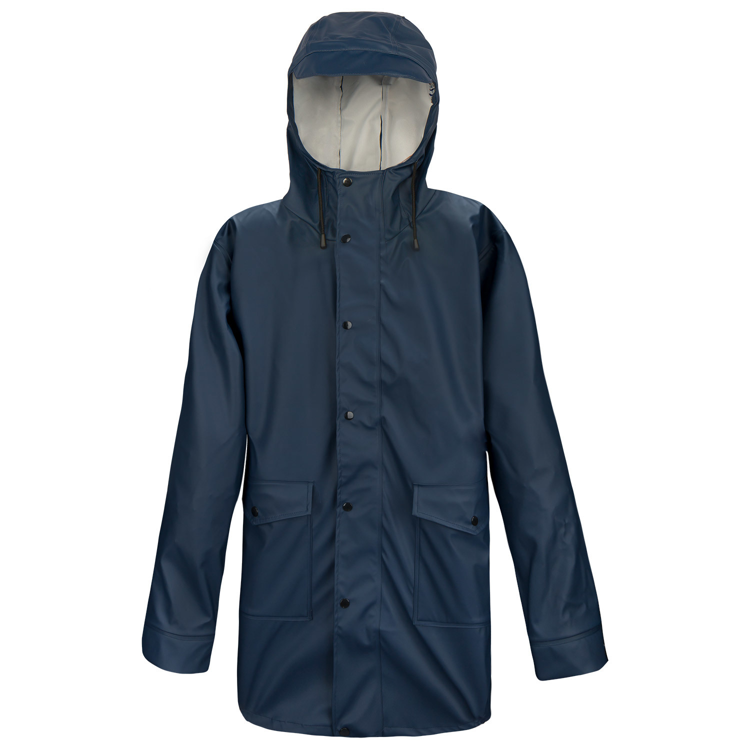 wetterjacke regenjacke herren marineblau gr 50 parka wasserdicht funktionsjacke ebay. Black Bedroom Furniture Sets. Home Design Ideas