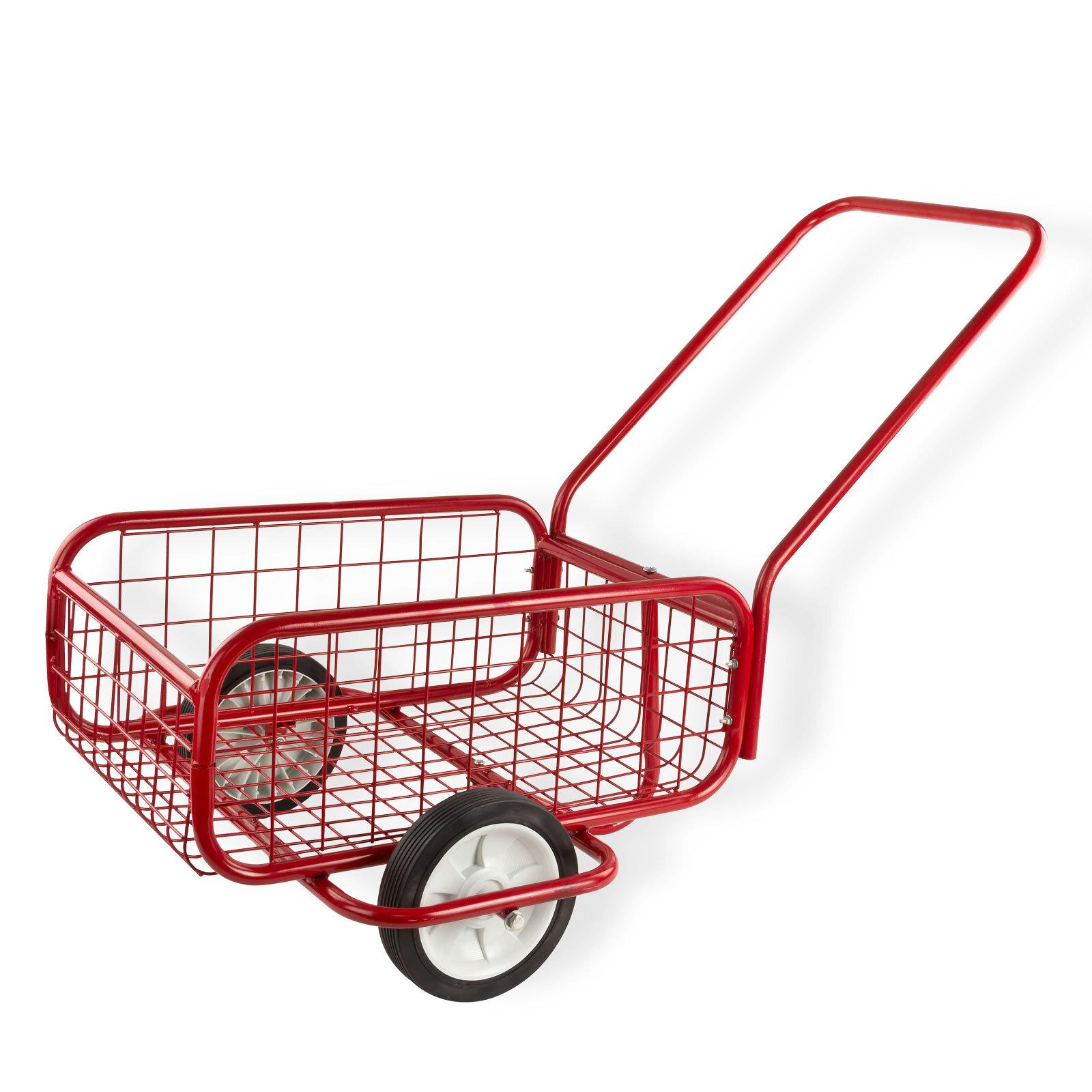 metall handwagen transportwagen transportkarre einkaufswagen karre wagen 80 kg ebay. Black Bedroom Furniture Sets. Home Design Ideas