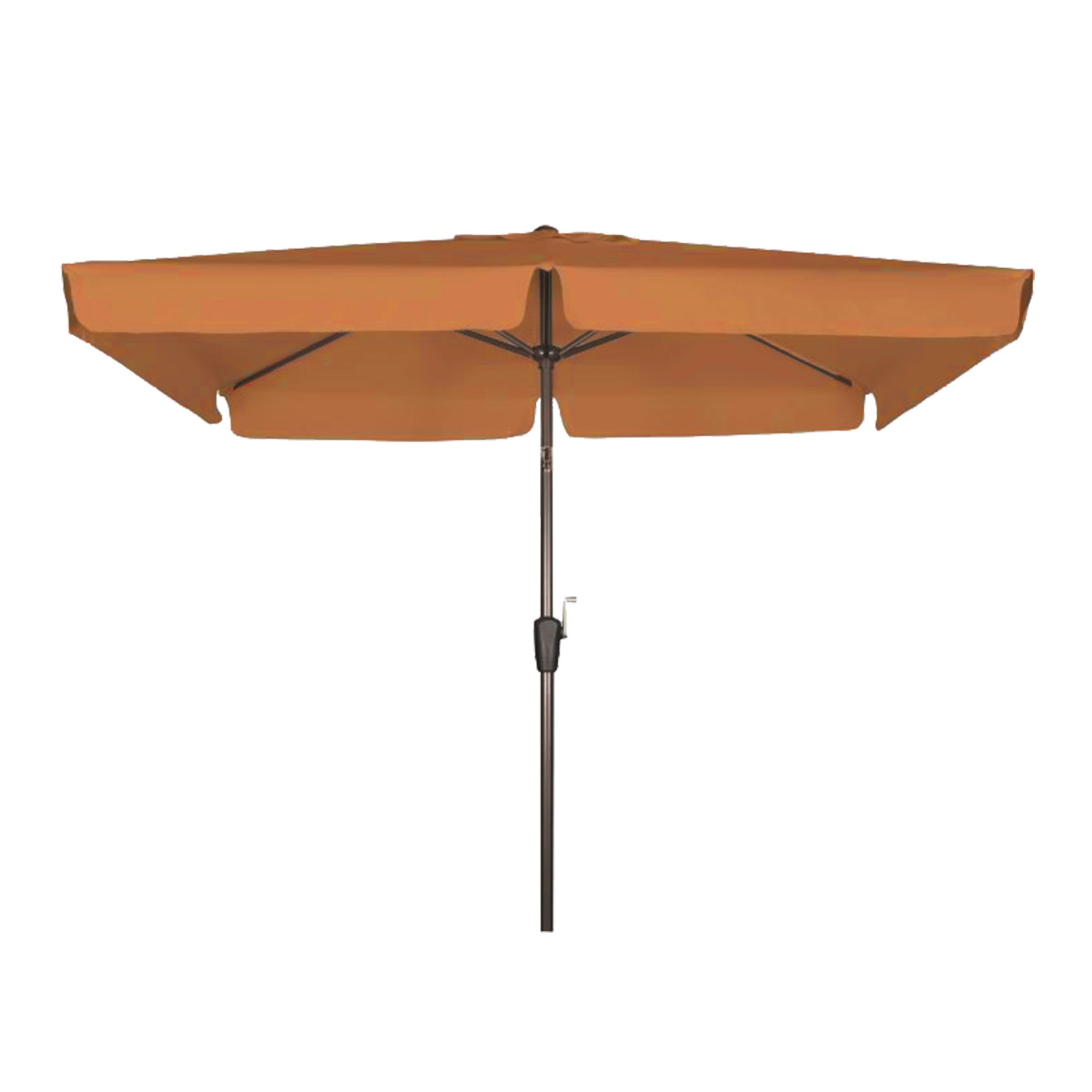 doppler kurbelschirm sonnenschirm basic lift umbra braun 210x140 cm rechteckig ebay. Black Bedroom Furniture Sets. Home Design Ideas
