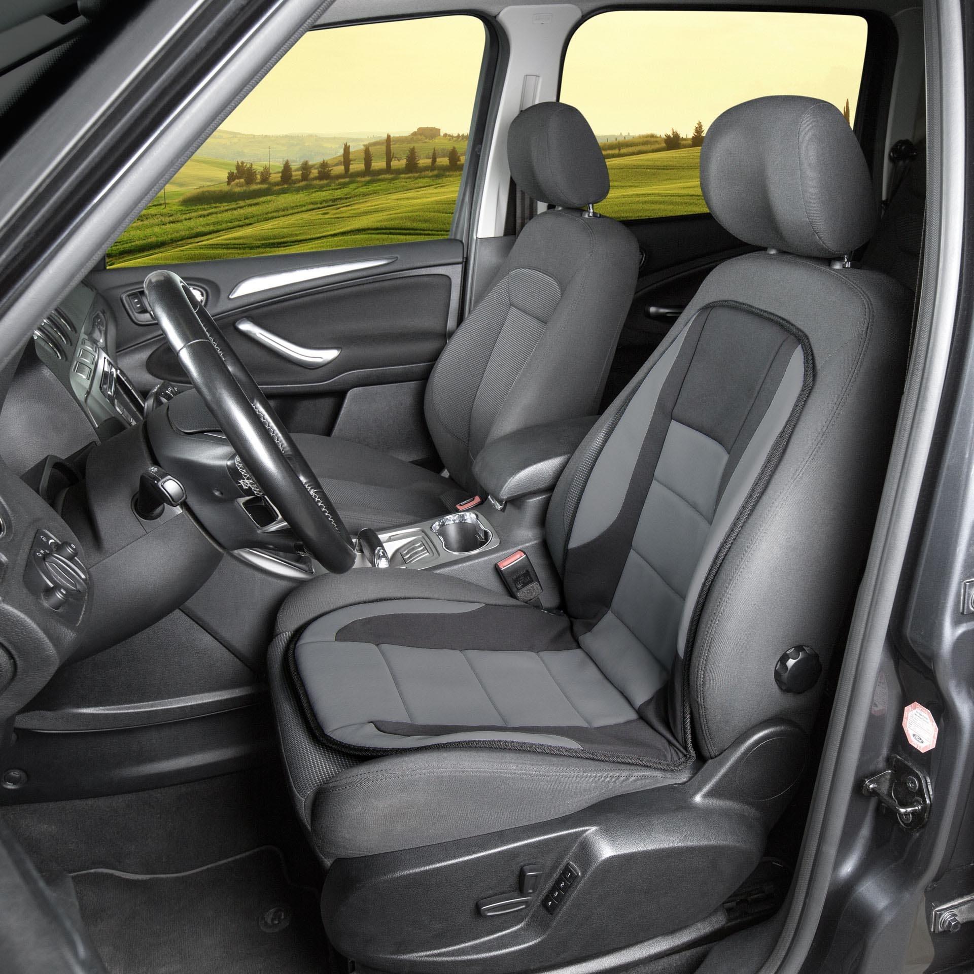 Autositzbezüge für Ford Mondeo III 00-07 5-Sitze PKW Schwarz Schonbezüge Auto
