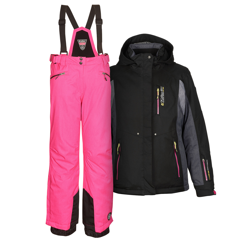 gut aussehen Schuhe verkaufen Details für begrenzter Verkauf Details zu killtec Damenskianzug Skianzug Frauen Skijacke Abril + Skihose  Hila pink Gr. 40