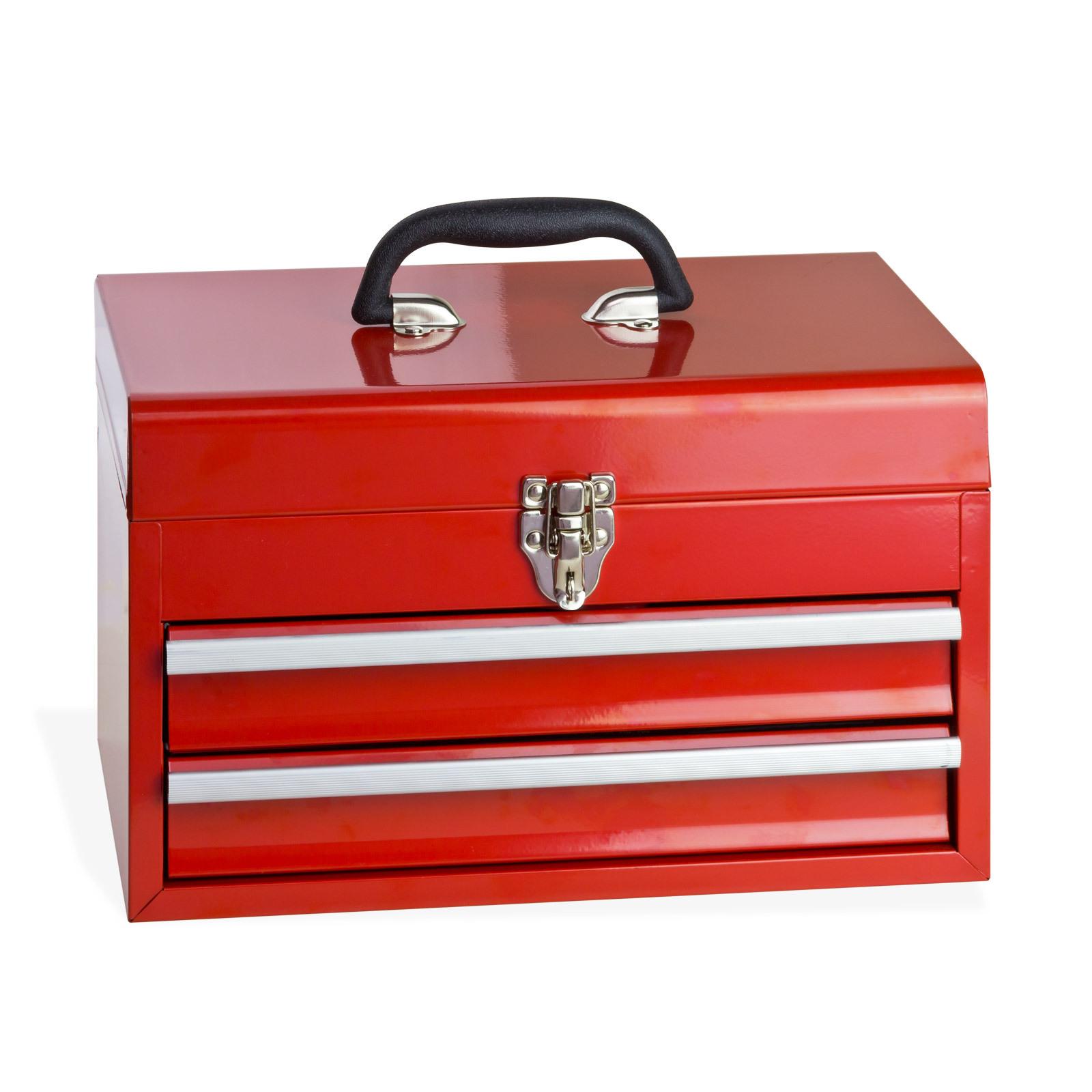 metall werkzeugkoffer werkzeugkiste mit werkzeug inhalt 155tlg mit 2 ausz gen ebay. Black Bedroom Furniture Sets. Home Design Ideas