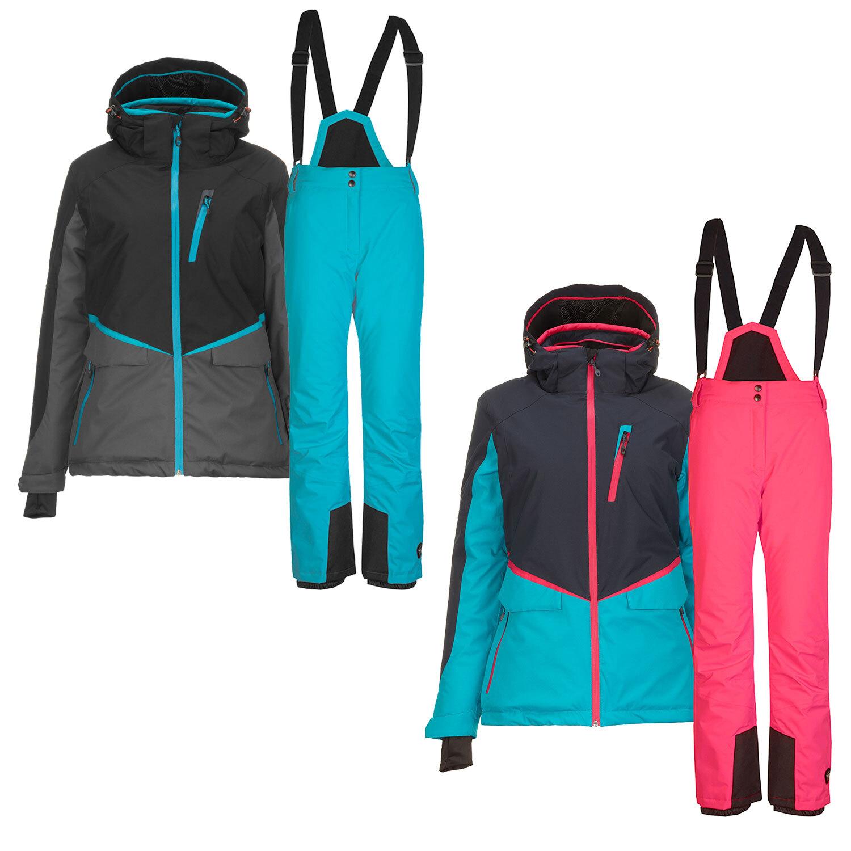 San Francisco Shop für neueste 100% Zufriedenheitsgarantie Killtec Skianzug Damen Alpin Ski Set 2 Way Stretch Skijacke ...