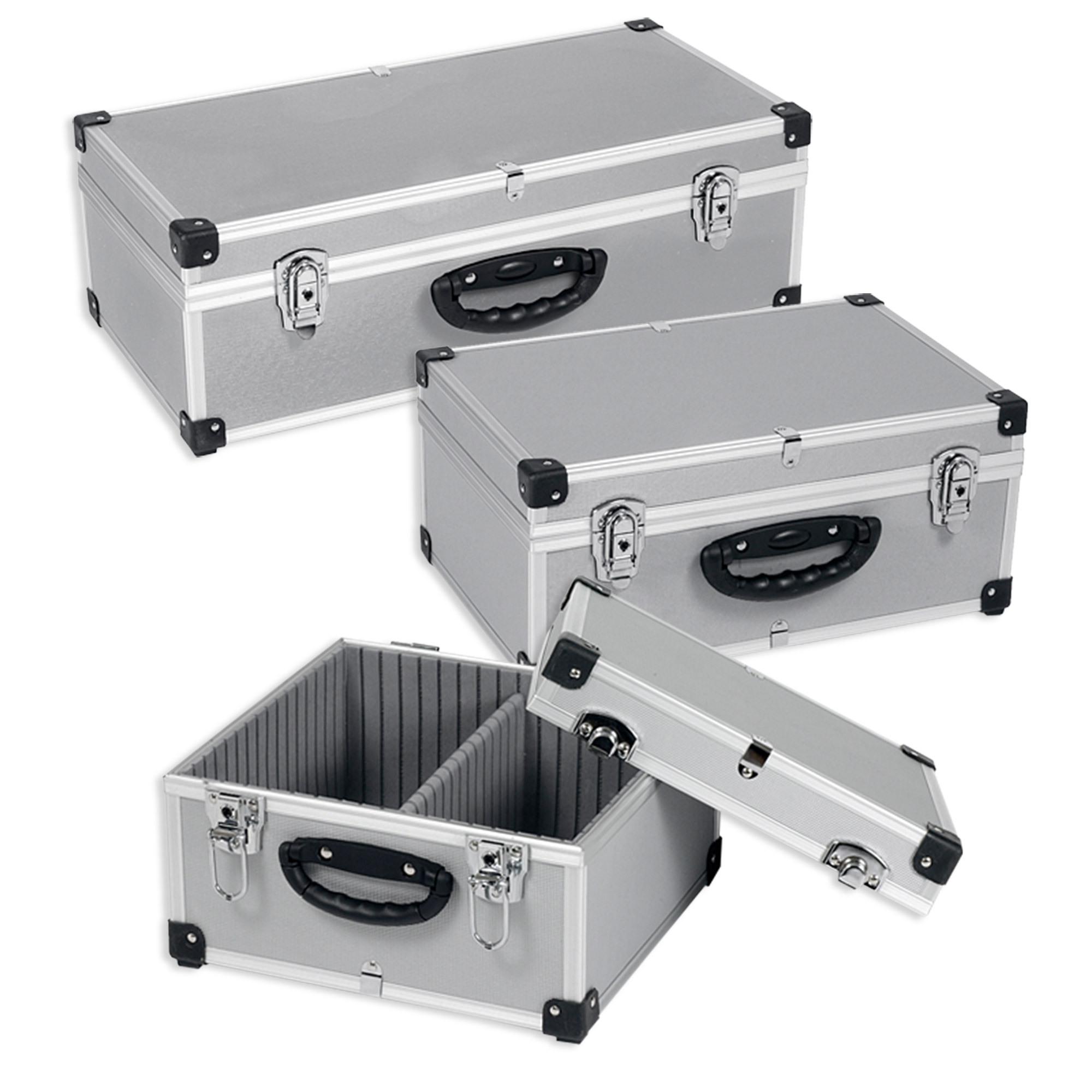Neopren Lange Lebensdauer Dj Cd-koffer Alukoffer Für 60 Cds Mit Schlüssel Dj Case Box Innenraum Klein- & Hängeaufbewahrung