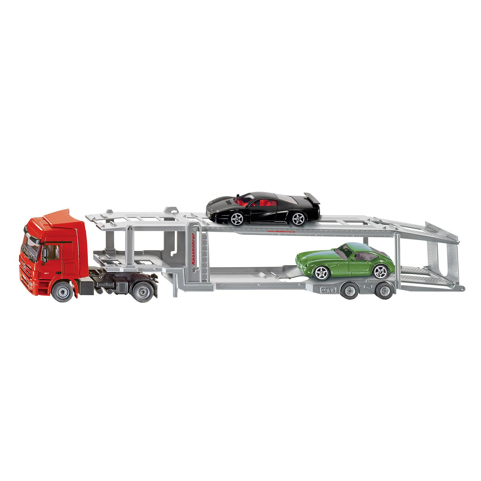 Auflieger M1:50 3934 SIKU Kinder Spielzeug Autotransporter LKW Zugmaschine