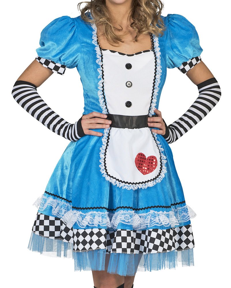 alice im wunderland kost m f r damen anim comic film karneval cosplay kleid ebay. Black Bedroom Furniture Sets. Home Design Ideas