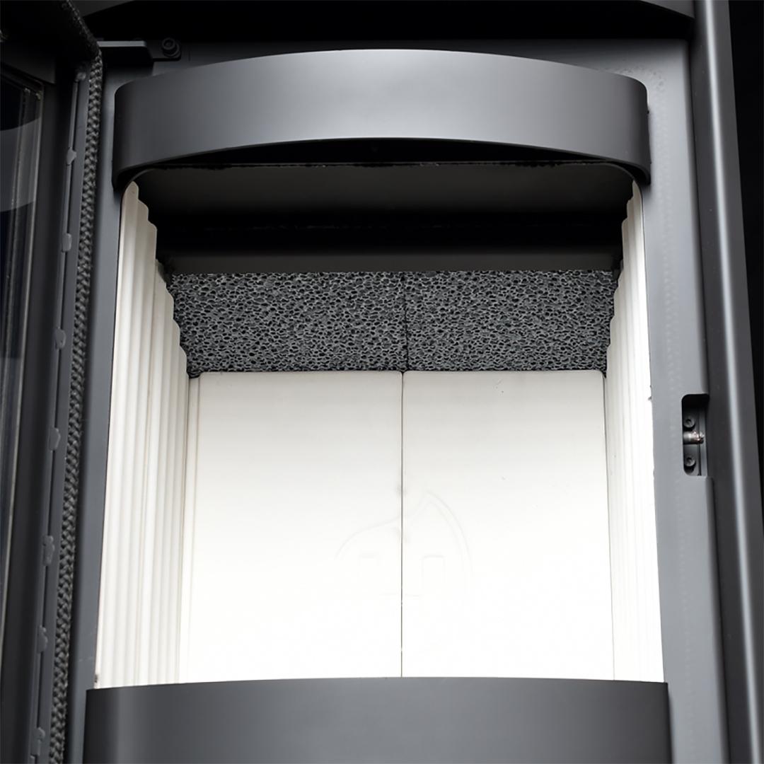 kaminofen hark 57 ecoplus ex 5 kw oder 7 kw graphit stahlofen schwedenofen ebay. Black Bedroom Furniture Sets. Home Design Ideas
