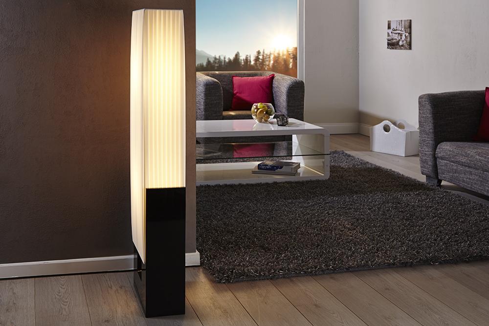 Design Stehlampe LIANA weiss Stehleuchte Beleuchtung Lampe Standleuchte Leuchte