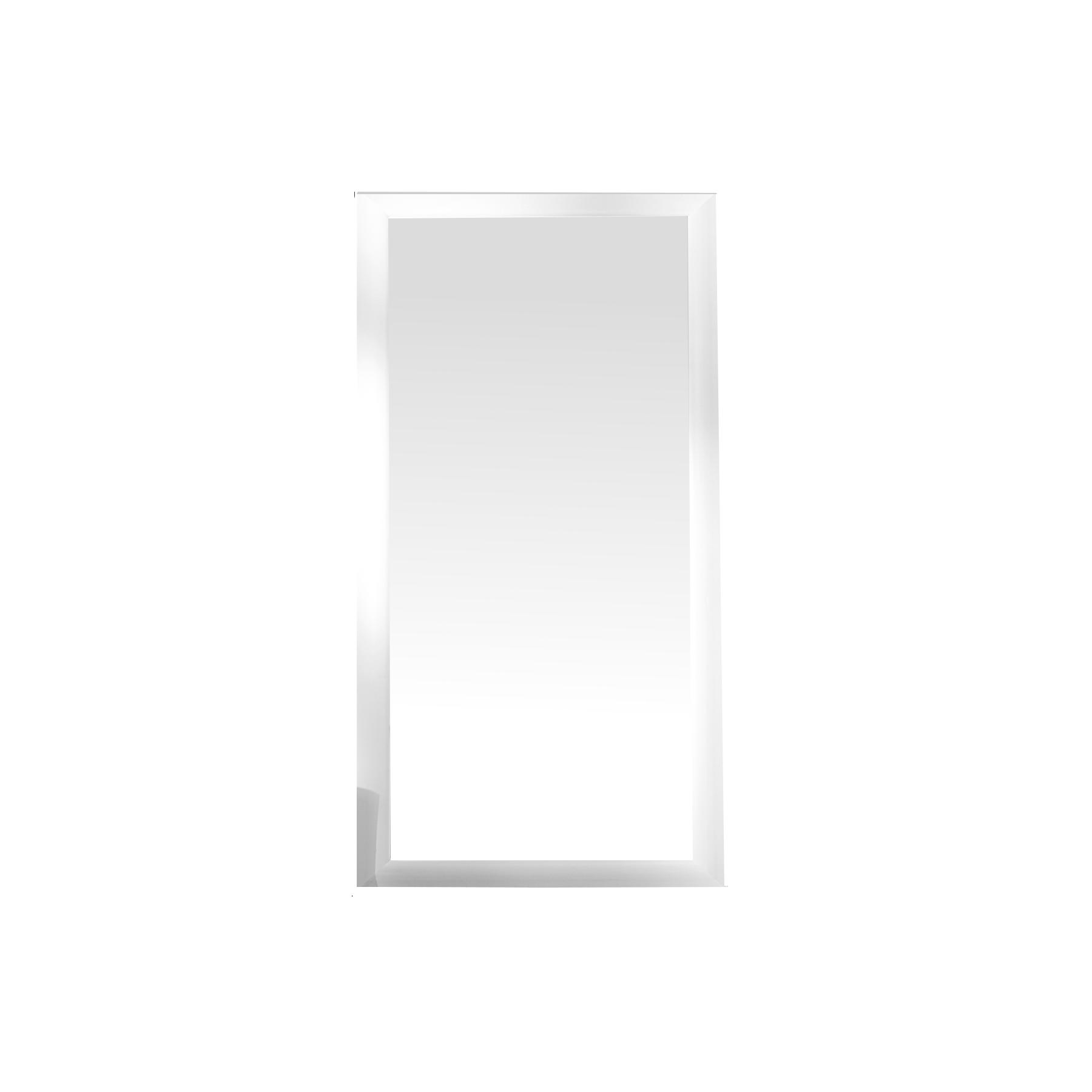 gro er design spiegel espejo weiss matt 180x85 cm wandspiegel badspiegel ebay. Black Bedroom Furniture Sets. Home Design Ideas