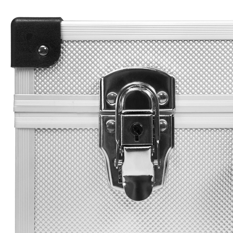 Neopren Lange Lebensdauer Klein- & Hängeaufbewahrung Dj Cd-koffer Alukoffer Für 60 Cds Mit Schlüssel Dj Case Box Innenraum