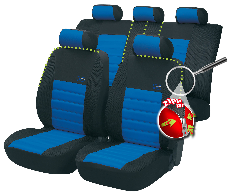 zipp it schonbezug sitzbezug sitzbez ge auto bez ge autositzbez ge sport speed ebay. Black Bedroom Furniture Sets. Home Design Ideas