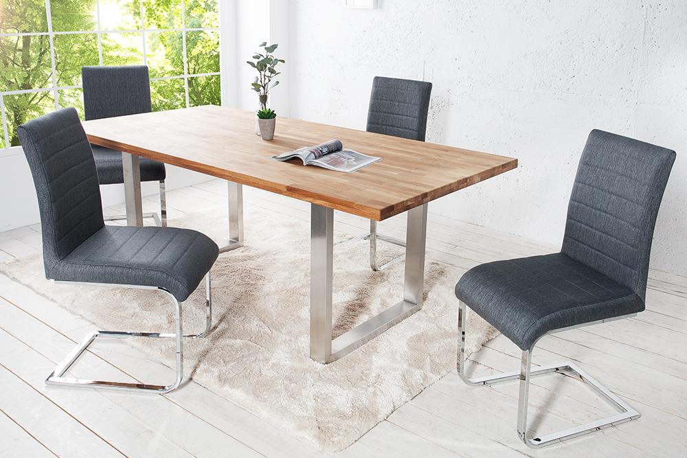 freischwinger stuart flachstahl stuhl st hle esszimmer schwingstuhl lehnstuhl ebay. Black Bedroom Furniture Sets. Home Design Ideas