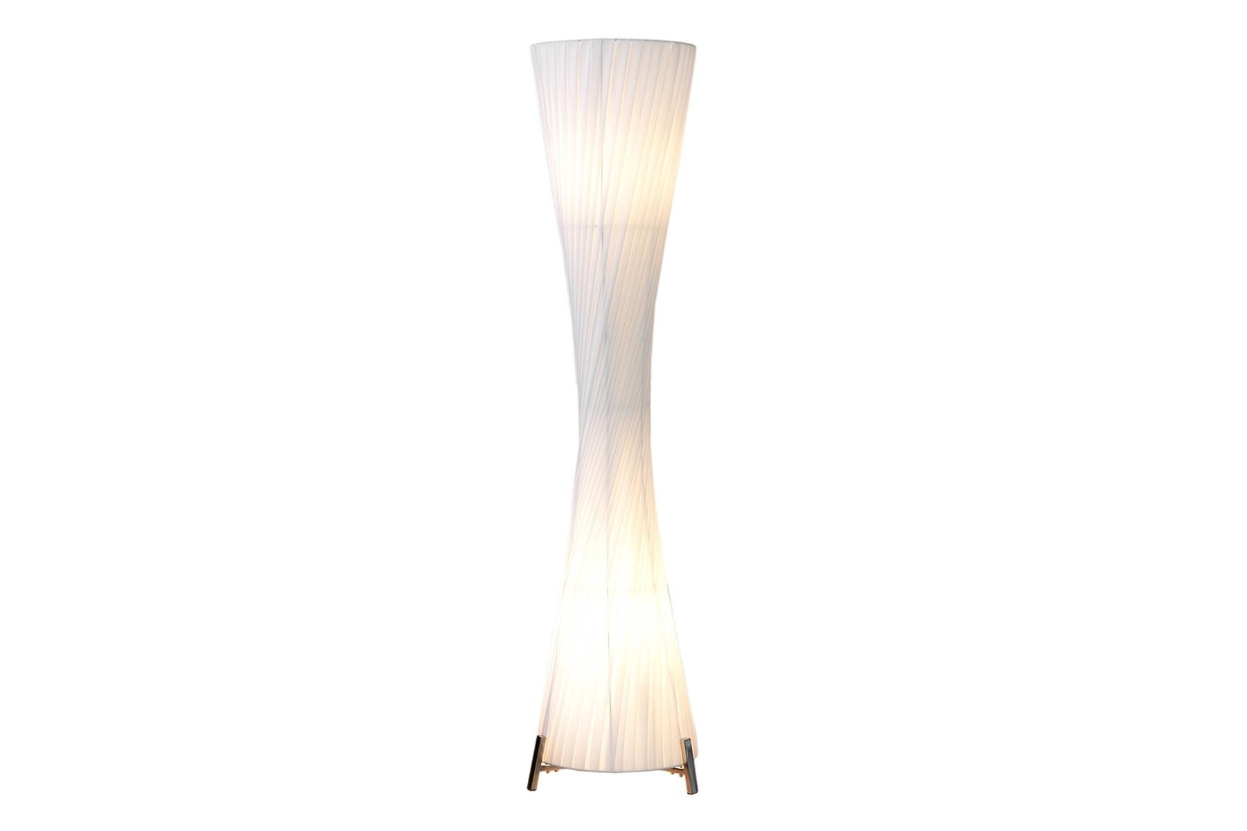 riesige design stehlampe helix xxl weiss 200cm stehleuchte lampe leuchte ebay. Black Bedroom Furniture Sets. Home Design Ideas