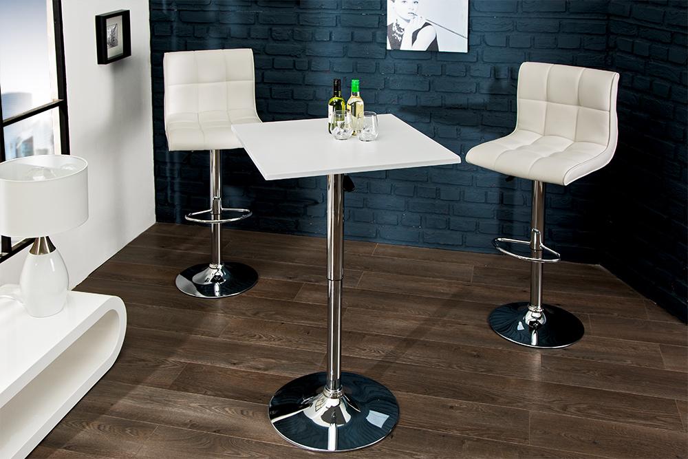 design stehtisch move weiss bistrotisch h henverstellbar. Black Bedroom Furniture Sets. Home Design Ideas
