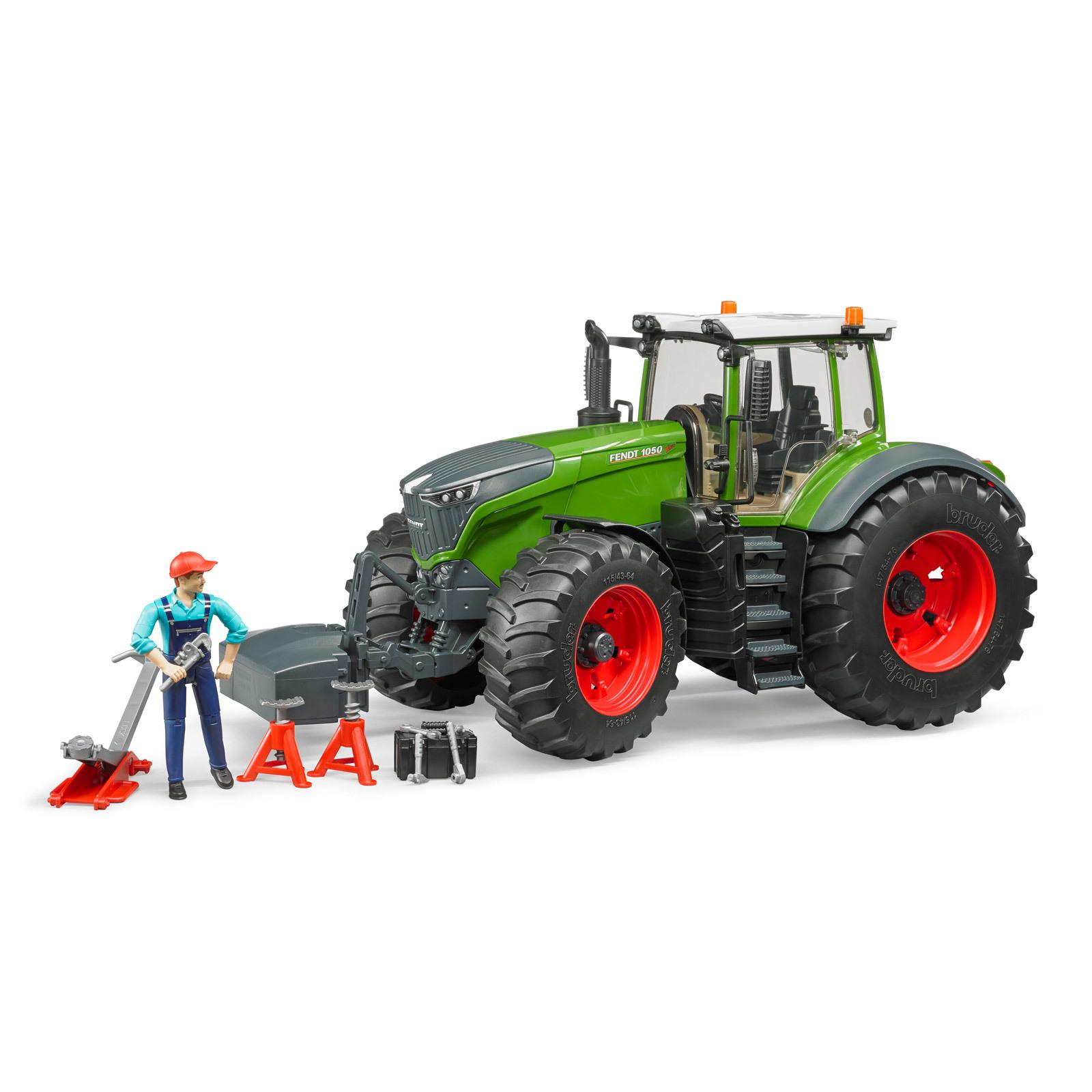 bruder traktor fendt 1050 vario mit mechaniker und. Black Bedroom Furniture Sets. Home Design Ideas