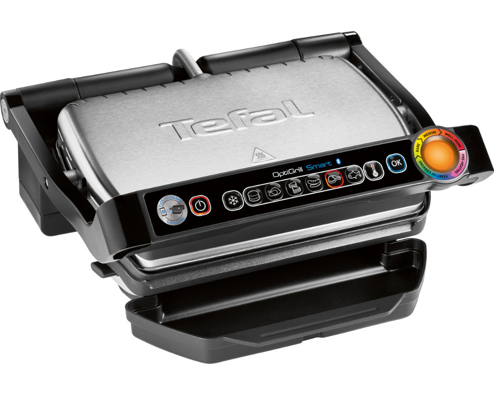 tefal gc730d optigrill smart kontaktgrill 2000 watt ebay. Black Bedroom Furniture Sets. Home Design Ideas