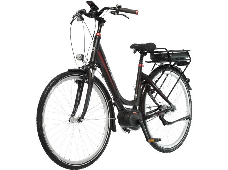 Fischer Ecu 1720 R1 Citybike 28 Zoll 46 Cm Wave 422 Wh Schwarz