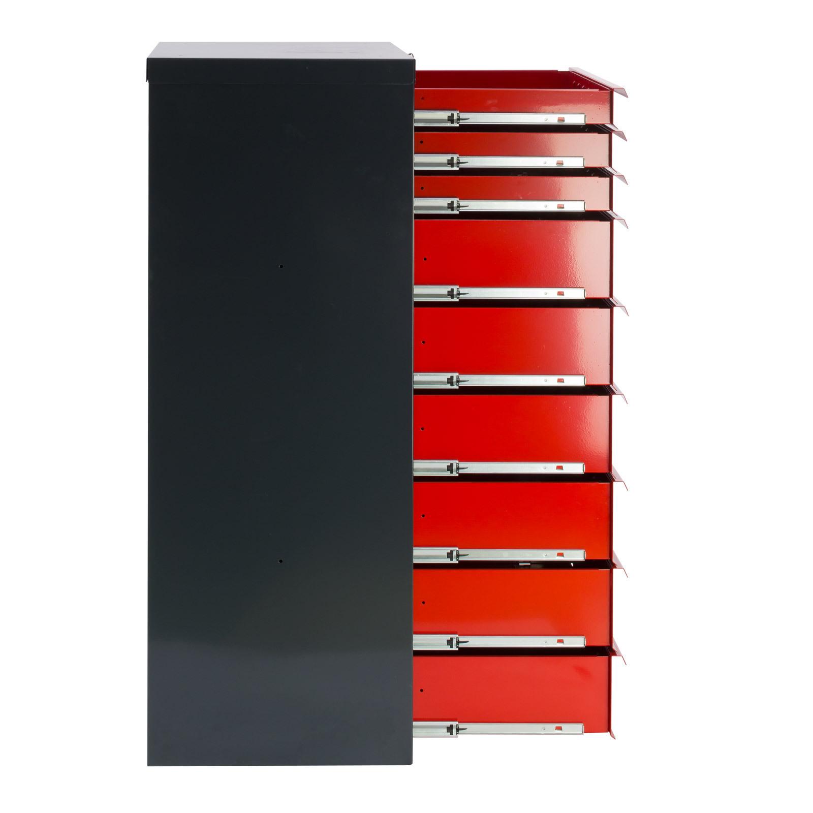 schubladenschrank werkzeugschrank werkstattschrank schrank fernando 9 schubladen ebay. Black Bedroom Furniture Sets. Home Design Ideas