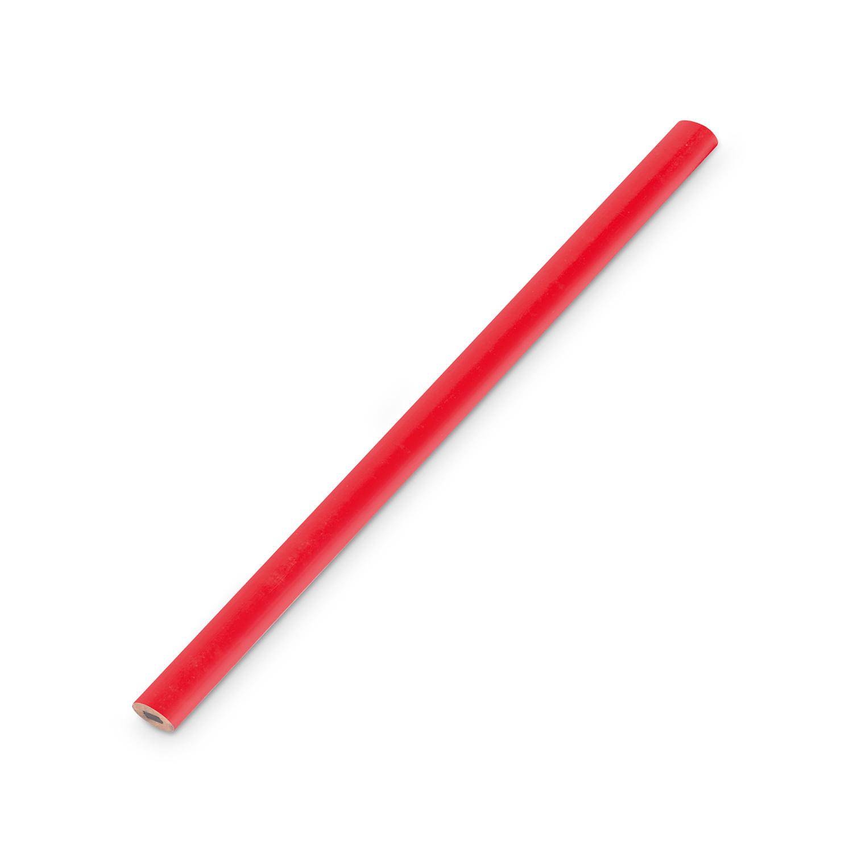 Bleistifte 10 Stück Graphitstift Tischlerbleistift je 177 mm rot Baubleistift