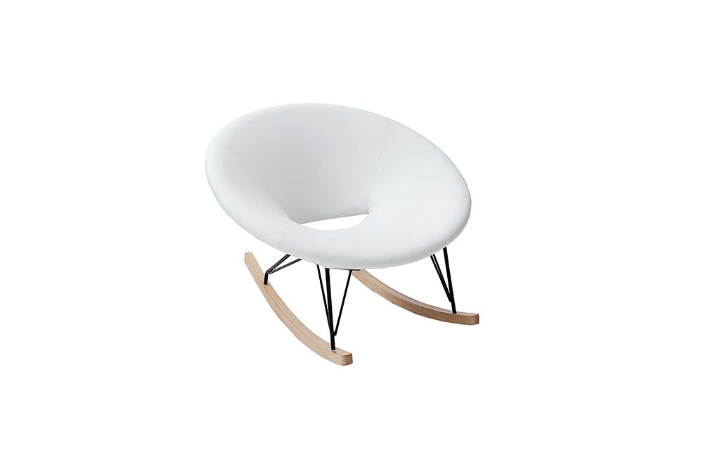 Moderner xxl design schaukelstuhl floating farbwahl stuhl for Moderner schaukelstuhl design