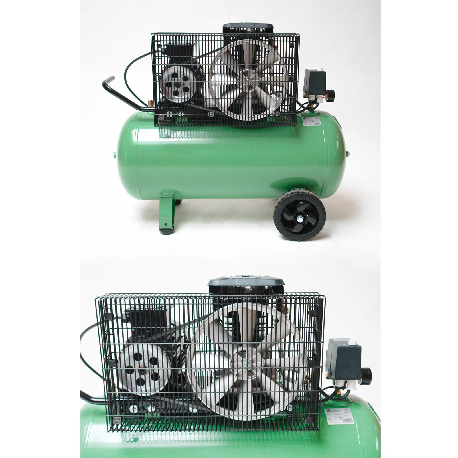 druckluft kolben kompressor 100 l 400 volt 10 bar 3 kw 500 10 100 4031765245135 ebay. Black Bedroom Furniture Sets. Home Design Ideas