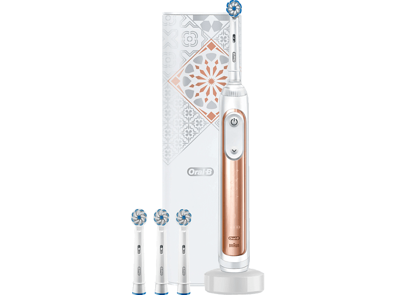 Details zu ORAL B Genius X 20000 Luxe Edition Elektrische Zahnbürste Rosegold