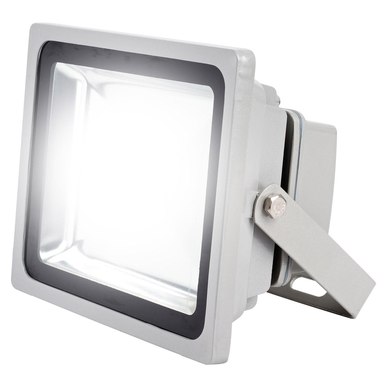 led flutlicht 50 watt hochleistungs baustrahler scheinwerfer au enlicht strahler ebay. Black Bedroom Furniture Sets. Home Design Ideas