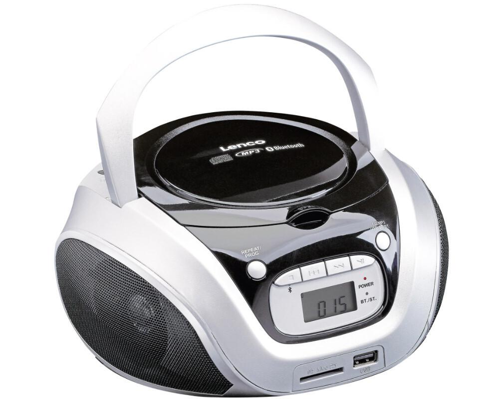 lenco scd330 cd radiorekorder bluetooth sd karte usb cd. Black Bedroom Furniture Sets. Home Design Ideas