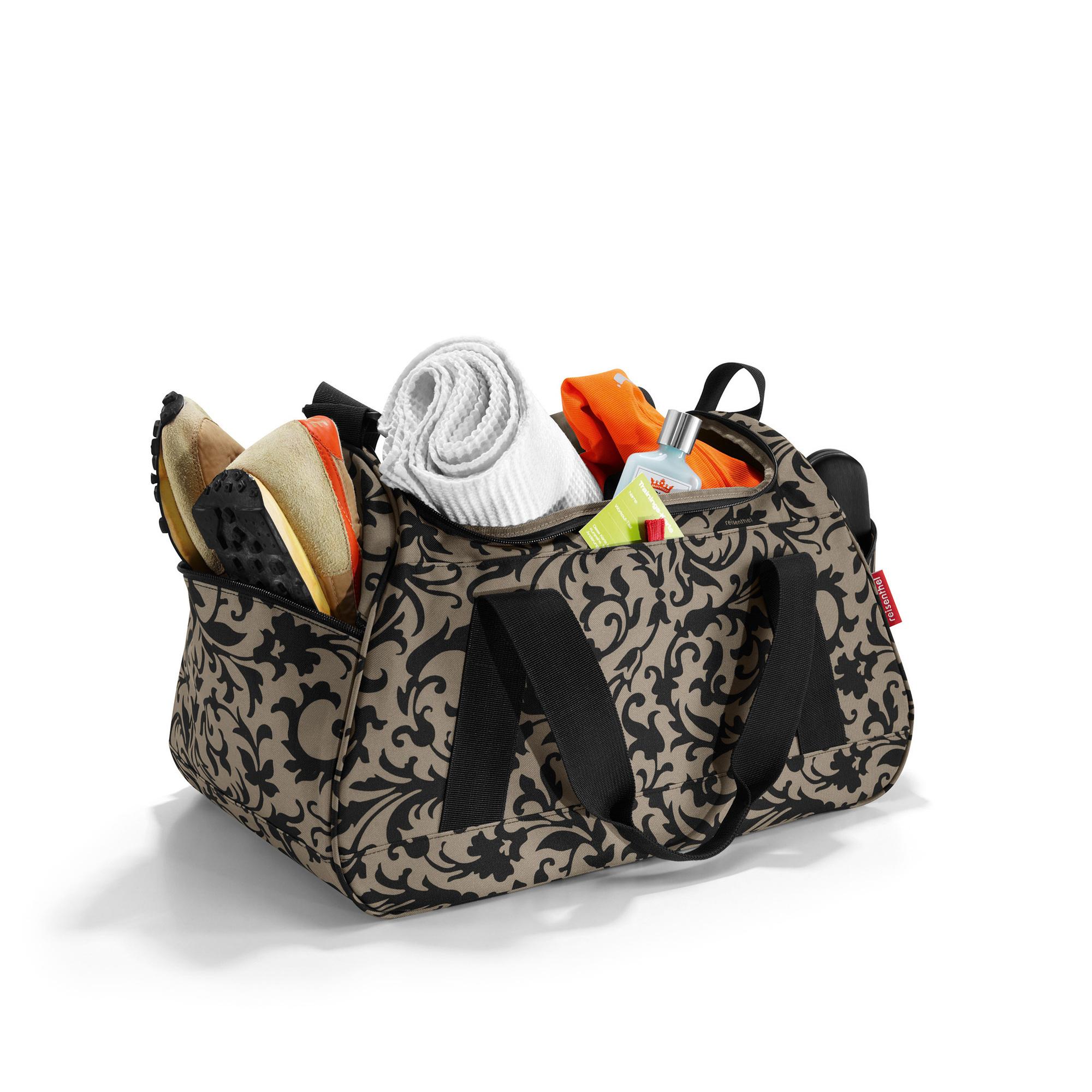 reisenthel activitybag baroque taupe sporttasche reisetasche saunatasche ebay. Black Bedroom Furniture Sets. Home Design Ideas
